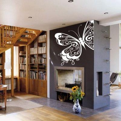 Дизайн стен наклейки
